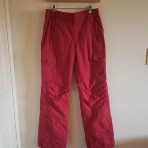 Vintage Bossini red wind resistance pants